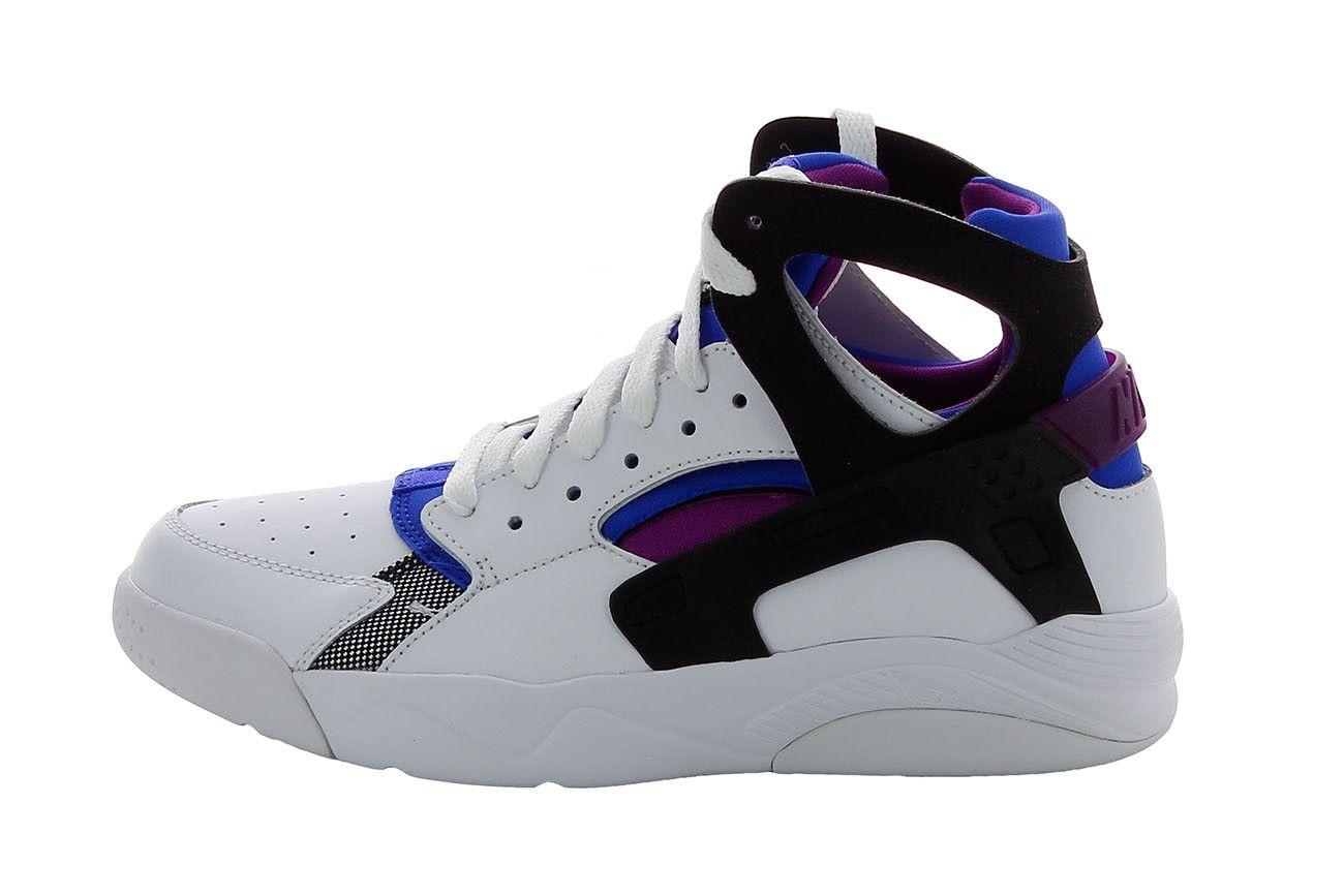 finest selection 128f9 256fb Basket Nike Air Flight Huarache (GS) - 705281-100 - Pegashoes