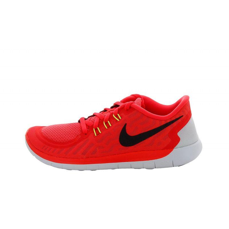sports shoes d1abe 022aa Basket Nike Free 5.0 (GS) - 725104-600
