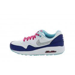 Basket Nike Air Max 1 (GS) - 653653-100