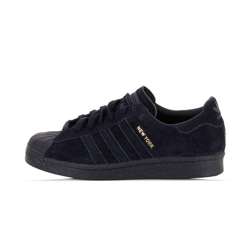 adidas Originals Superstar 80's City - B32737 Noir - Chaussures Baskets basses Homme