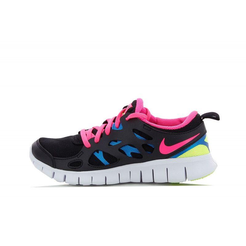 chaussures de sport 4ab46 21006 Basket Nike Free Run 2 (GS) - 477701-010
