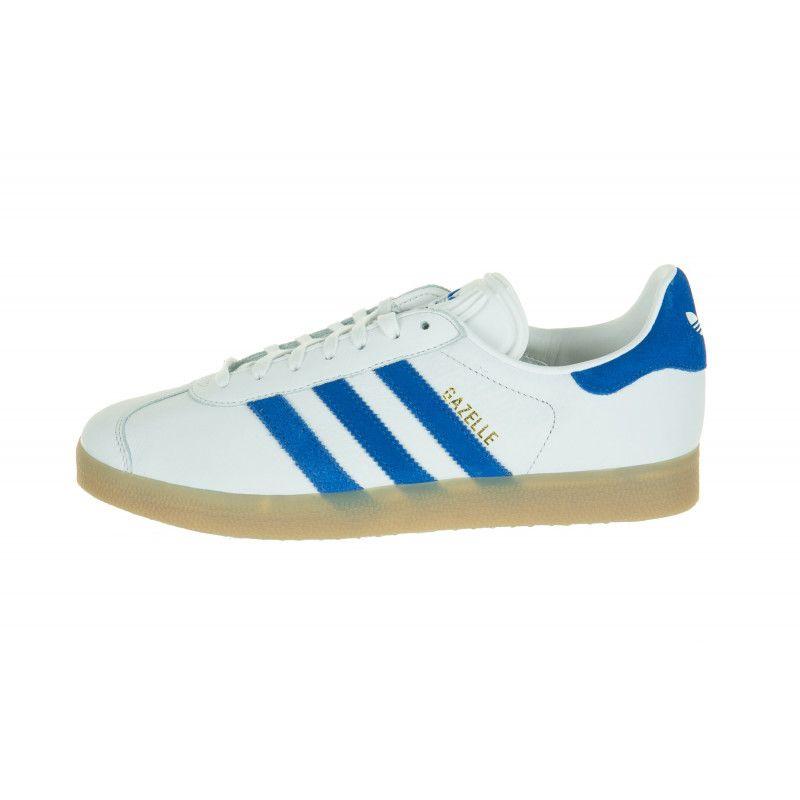 Basket adidas Gazelle S76225 Blanc/Bleu - S76225