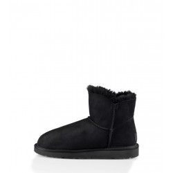 Botte UGG Mini Bailey Button 2 (Noir)