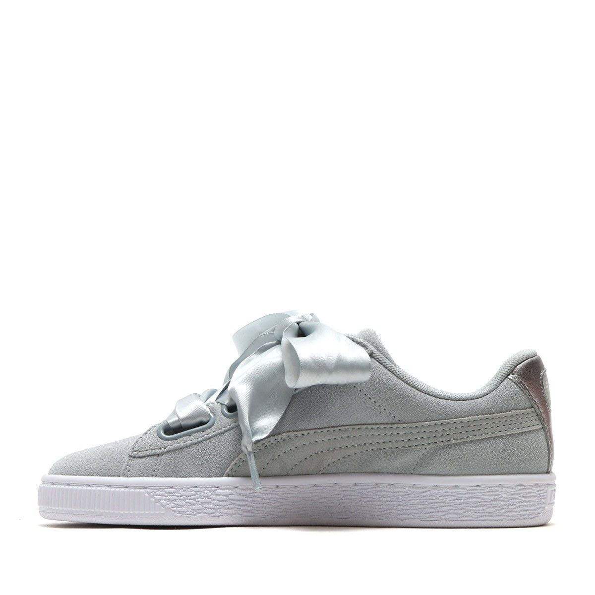 on sale addaa 8c8bf Basket Puma Suede Heart Metallic Safari - 364083-02 - Pegashoes