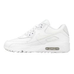 Basket Nike Air Max 90 Leather Junior - 833412-100
