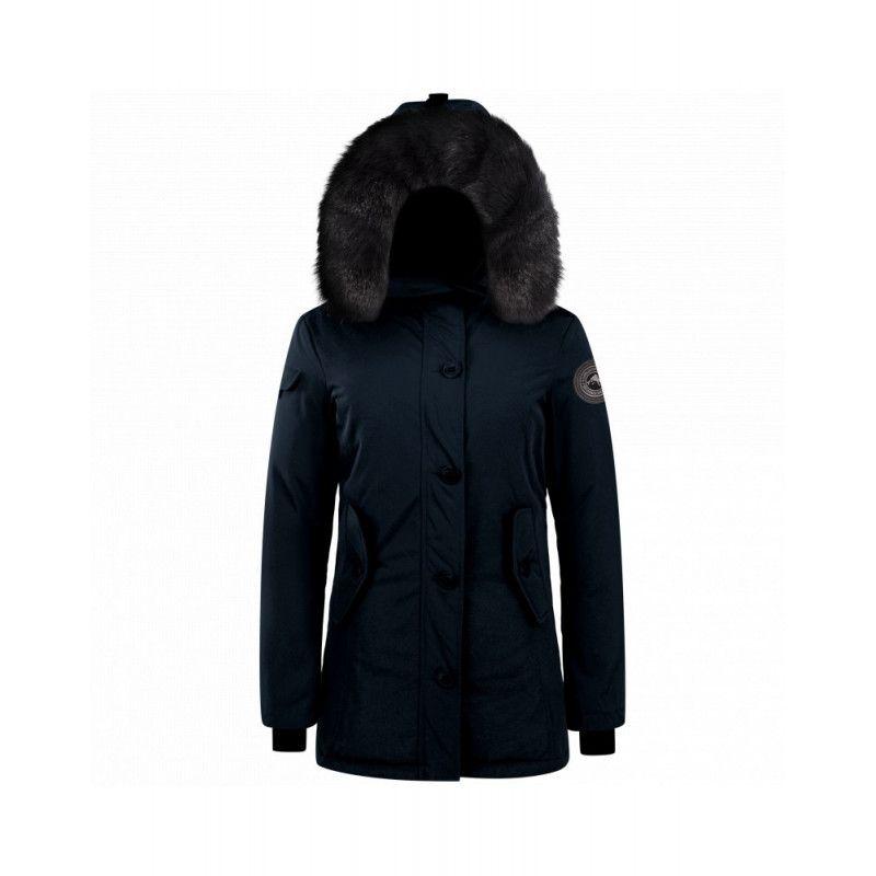 parka helvetica expedition femme black edition bleu marine pegashoes. Black Bedroom Furniture Sets. Home Design Ideas
