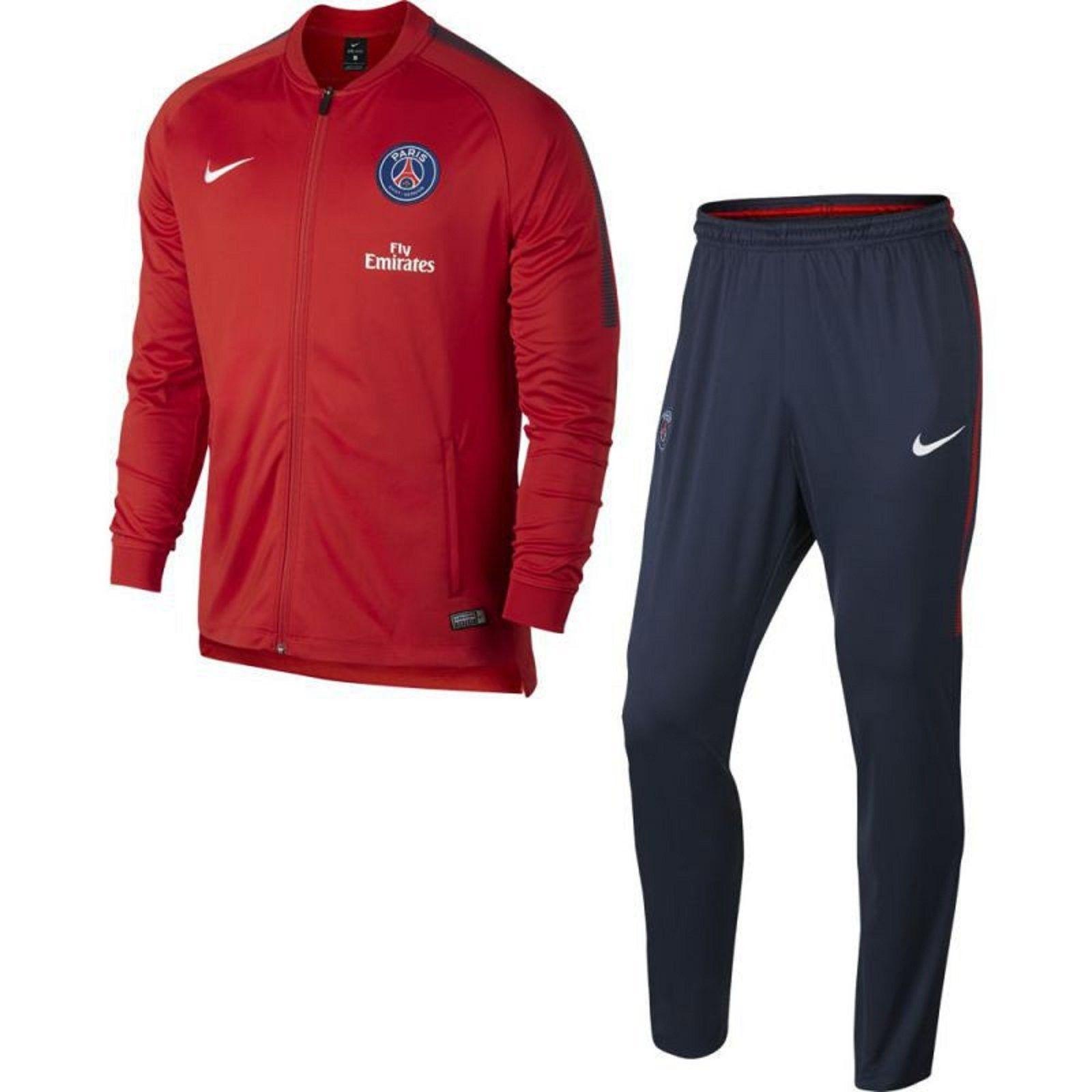 new high the best best cheap Ensemble de survêtement Nike Paris Saint-Germain Dry Squad Junior -  854722-676 - Pegashoes