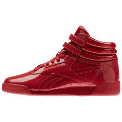 Basket Reebok Freestyle Hi Patent Leather Junior - CN2078