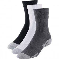 Under Armour Pack 3 paires de chaussettes Under Armour HeatGear Tech Crew - 1312341-040