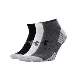 Under Armour Pack 3 paires de chaussettes Under Armour HeatGear Tech No Show - 1312439-040