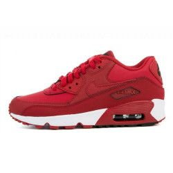Basket Nike Air Max 90 Leather Junior - 833412-600