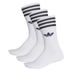 Pack 3 paires de chaussettes adidas Originals mi-mollet - S21489