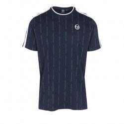 Teeshirt Sergio Tacchini PINSTRIPE T SHIRT - Ref. 37887-219-PINSTRIPE-T-SHI