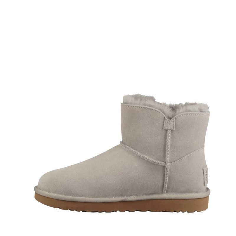 Bottines Ugg MINI TURNLOCK BLING (Gris) - Ref. MINI-TURN