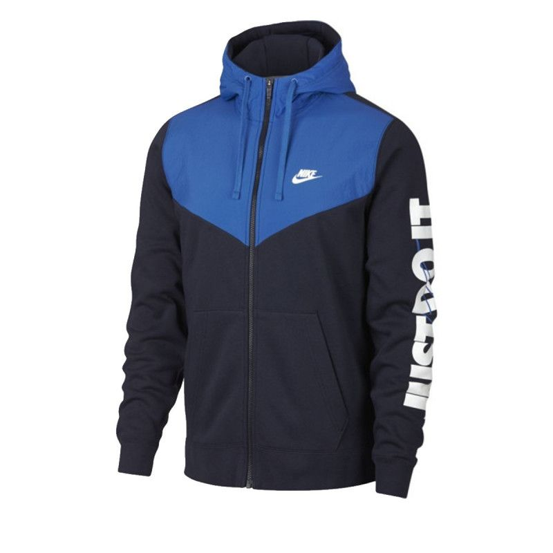 Sweats Nike M NSW HBR HOODIE FZ FLC - Ref. 931900-451