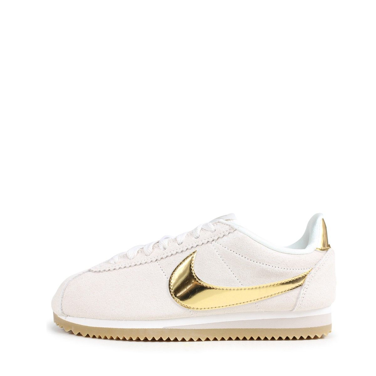 hot sale online cd4aa ce36f Baskets Nike W CORTEZ CLASSIC LEATHER - Ref. 902856-013. Loading zoom