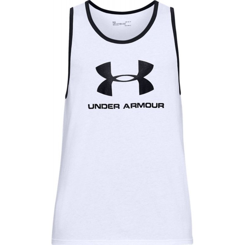 Tee-shirt Under Armour SPORTSTYLE LOGO TANK - Ref. 1329589-100