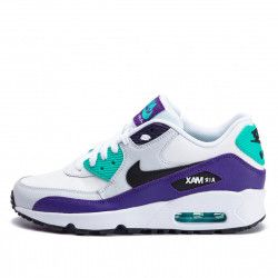 Basket Nike AIR MAX 90 LEATHER Junior